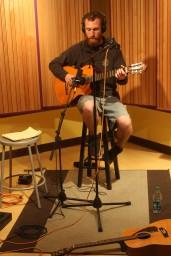 Recording day one for Luke Kinney new release